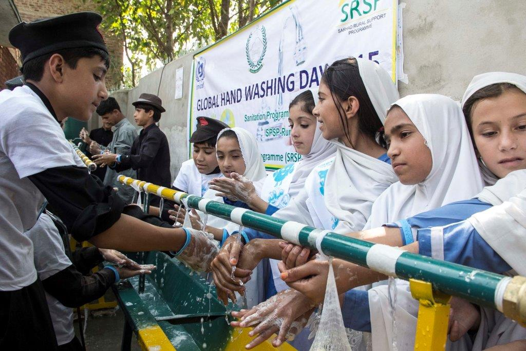 Our health in our hands: Global Handwashing day marked in Buner