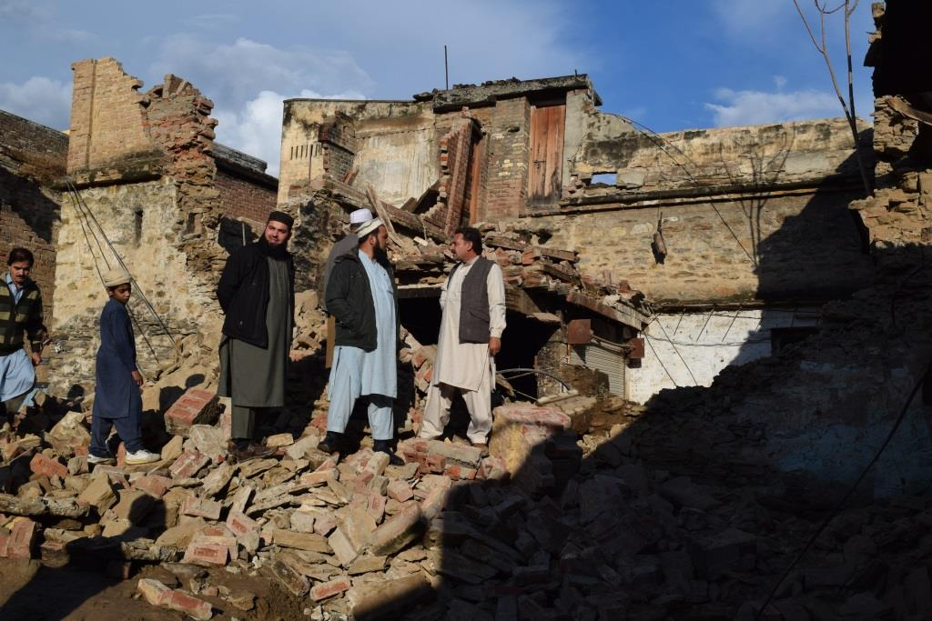 7.5 magnitude earthquake jolts Swat valley