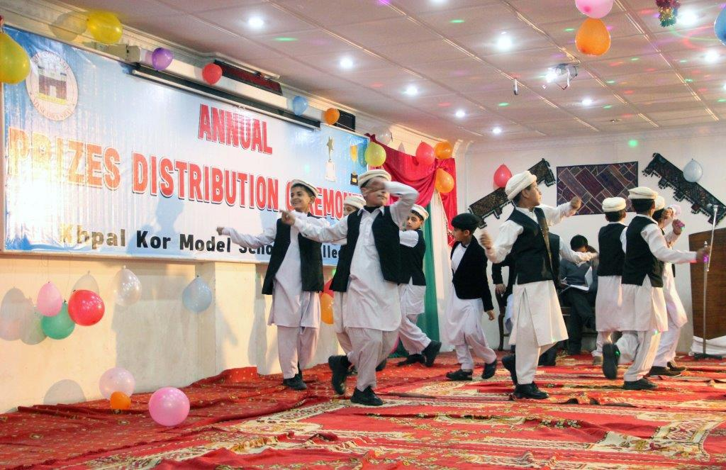 Annual Function: Students enthrall audience by cultural dance