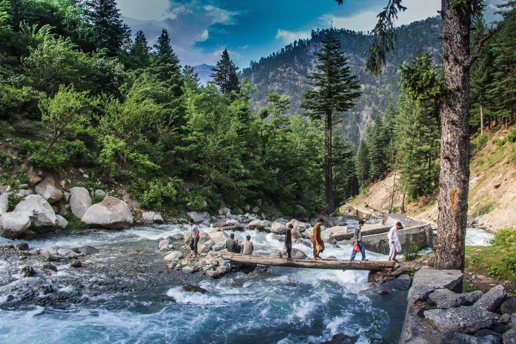 Swat valley, a heaven for tourists in summer