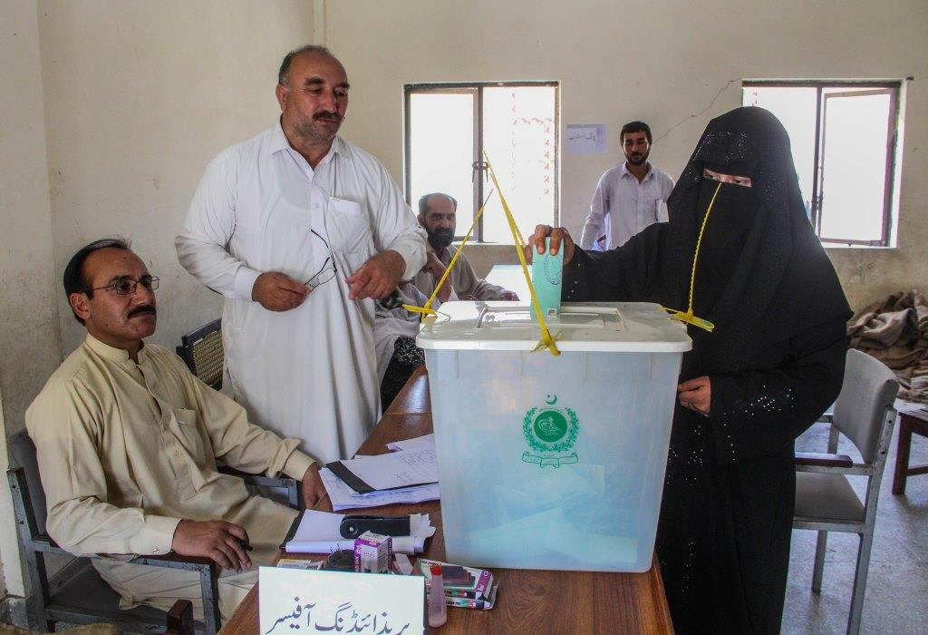 Kashmir people in Swat participate in AJK elections