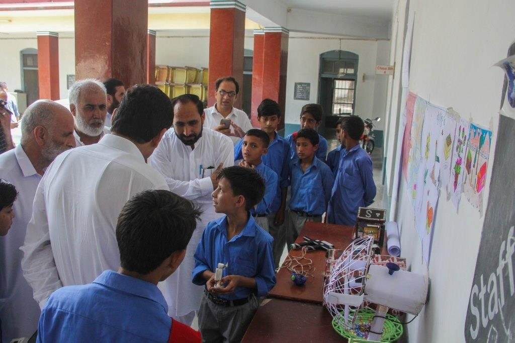 Students learn practical uses of Maths and Science
