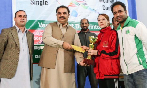 Peshawar's Mehwish becomes the 2019 champion of KP badminton