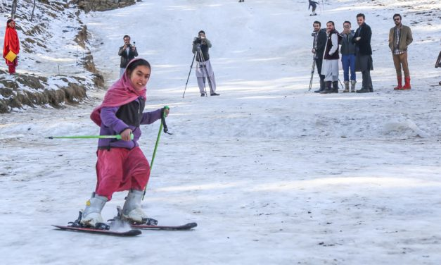 Gender, disability and poverty cannot obstruct Azra from skiing on high slopes