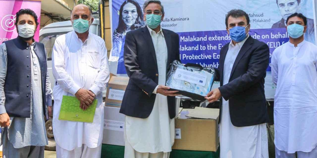 CDLD Programme Supports KP Government to combat Covid-19