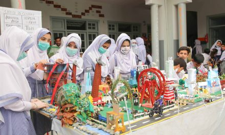 Swat Students Showcase Science Models in Exhibition